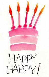 Happy cumpleaños imagen
