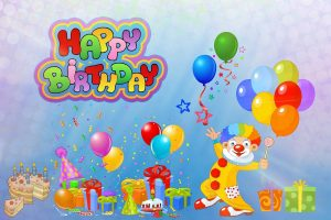 Feliz birthday globos