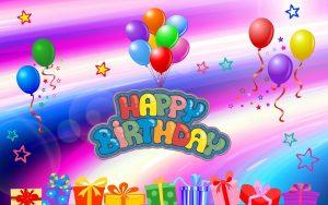 Feliz cumpleaños con payaso