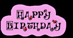 Feliz party de cumpleaños
