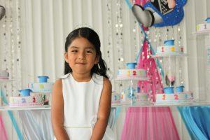 Princesa feliz cumple